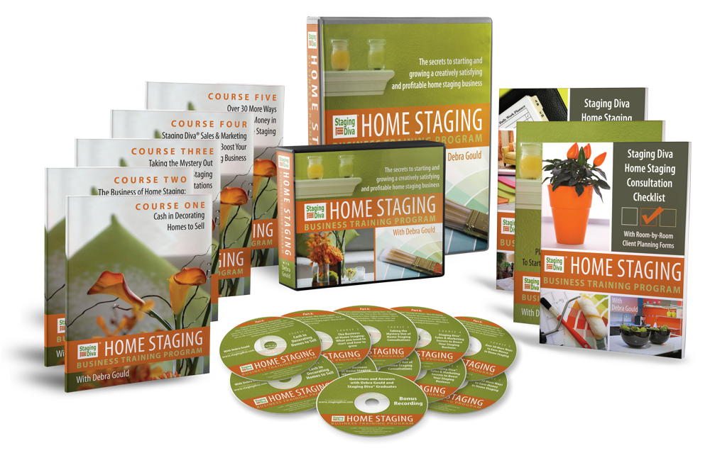 The Staging Diva Store Home Staging Training Courses