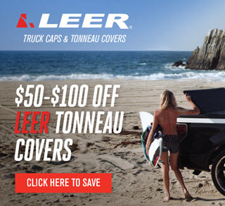 LEER Truck Caps, Toppers and Camper Shells