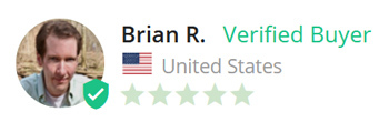 Brian R. Verified Buyer from United States, 5 stars
