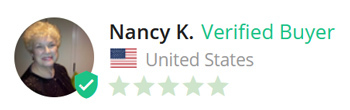 Nancy K. Verified Buyer from United States, 5 stars