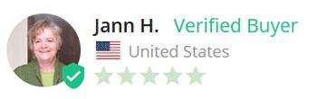 Jann H. Verified Buyer from United States, 5 stars