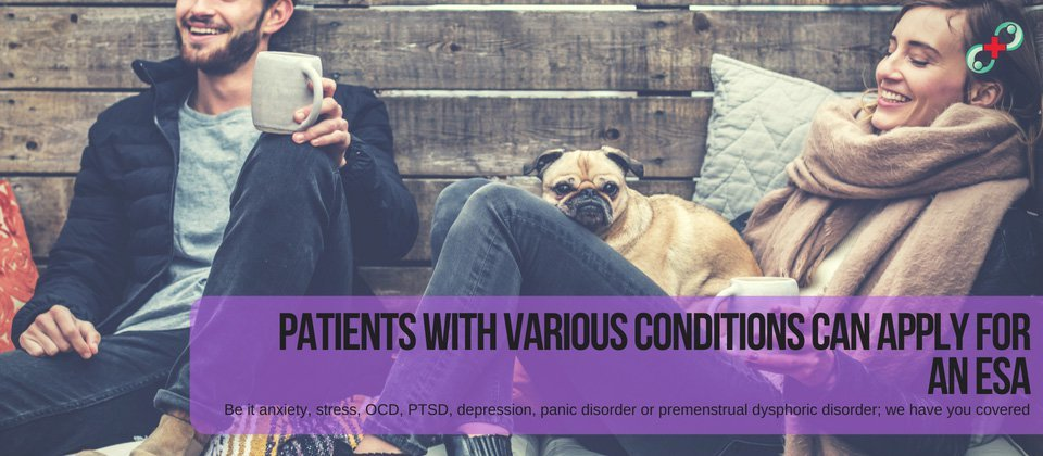 Patients with various conditions can apply for an esa