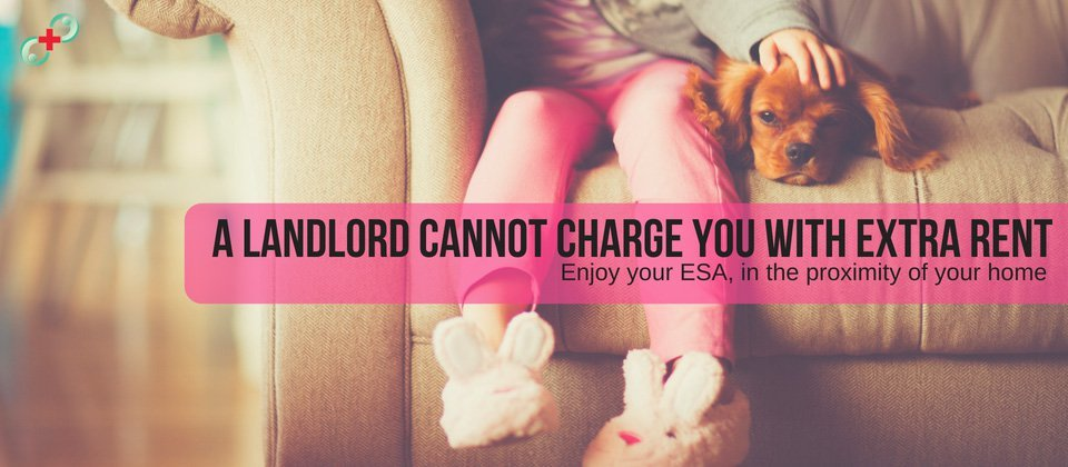A landlord cannot charge you with extra rent